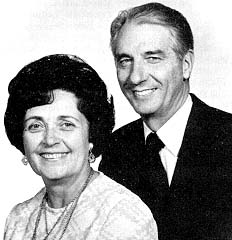Sister Helen and Elder J. Thomas Fyans
