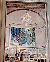 Salt Lake Temple sealing room