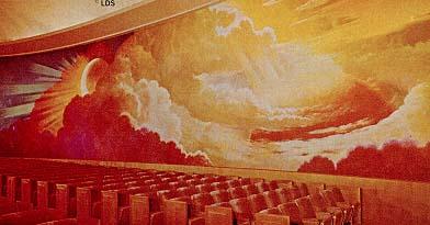 Los Angeles Temple creation room