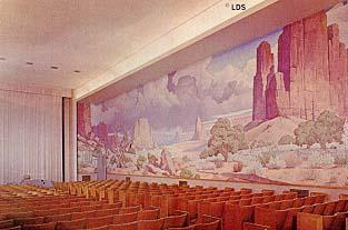 Los Angeles Temple world room