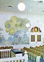 Salt Lake Temple garden room