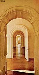 Doorway in the St. George Temple