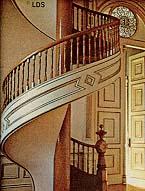 Salt Lake Temple spiral staircase
