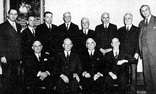 Members of the Council of the Twelve at the time Ezra Taft Benson was ordained an apostle