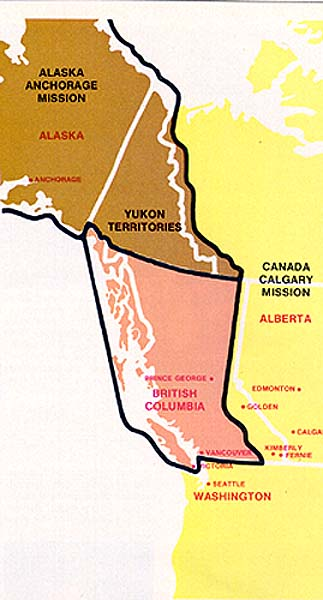 Lds Missions In California Map.New Mission Formed For Alaska Yukon