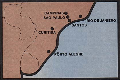 map of Brazilian Stakes