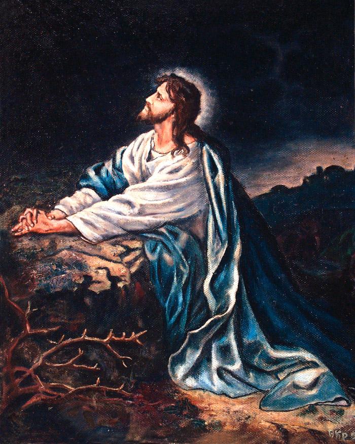 Savior in Gethsemane