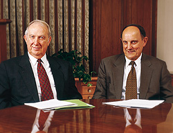 Two members of the Missionary Executive Council