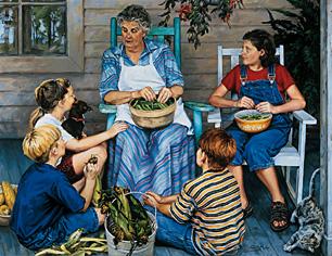 Grandma Is a Storyteller