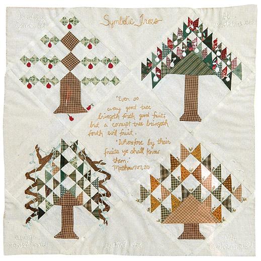 quilt, Symbolic Trees