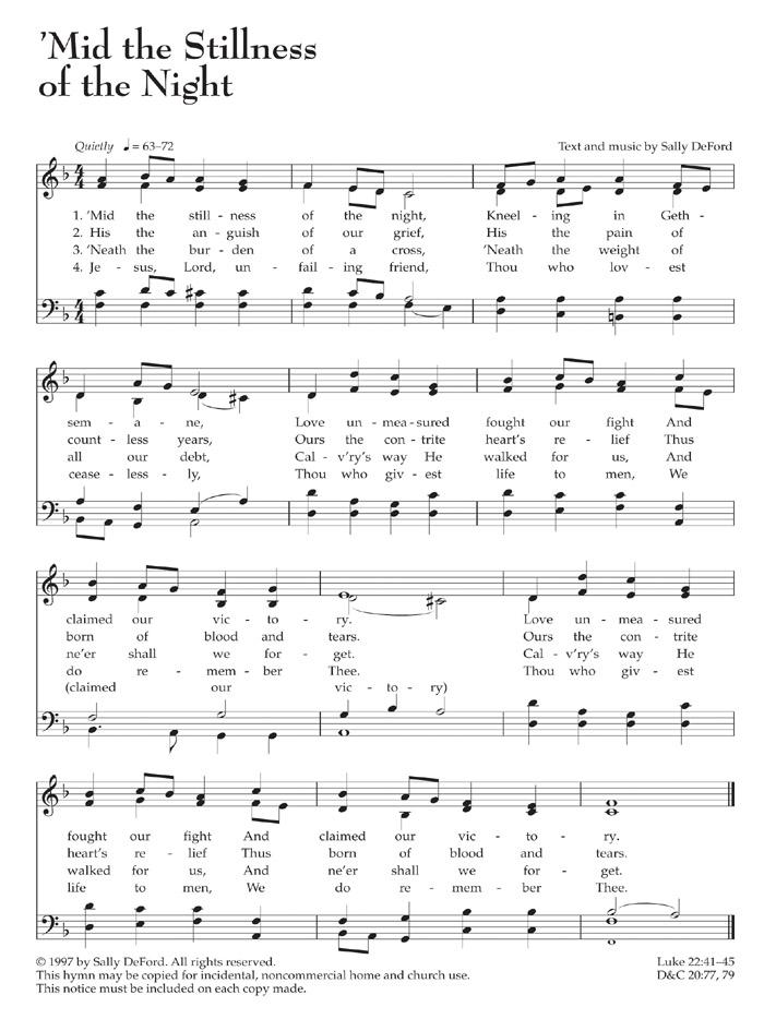 Music, 'Mid the Stillness of the Night