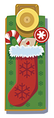 Christmas Doorknob Banner
