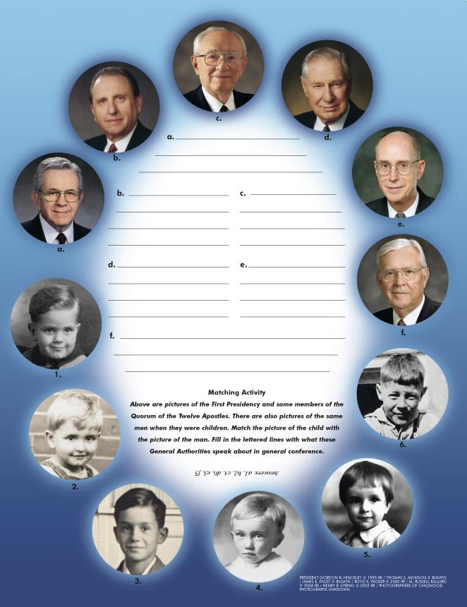 Photos of Apostles