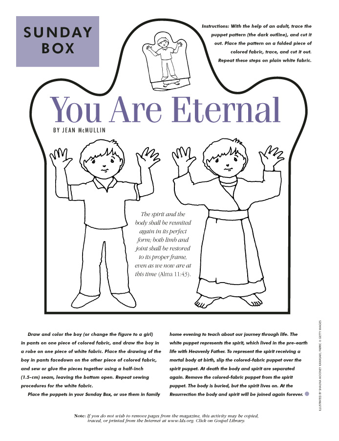 You are eternal