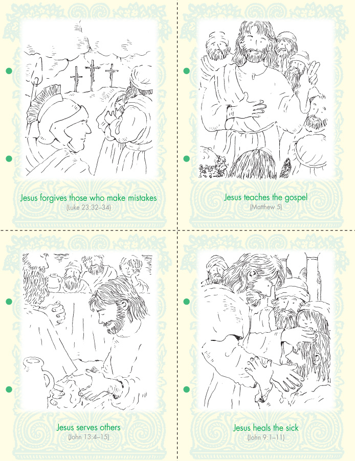 Coloring Pages | 2009-2004 Friend Issues