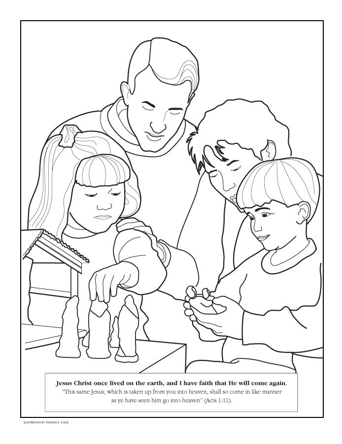 Coloring Pages | Jesus Coloring Pages