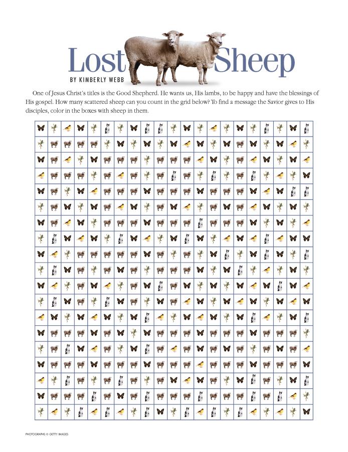 Funstuf: Lost Sheep - Friend Jan. 2007 - friend