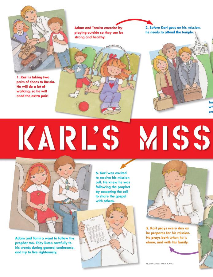 Karl's mission