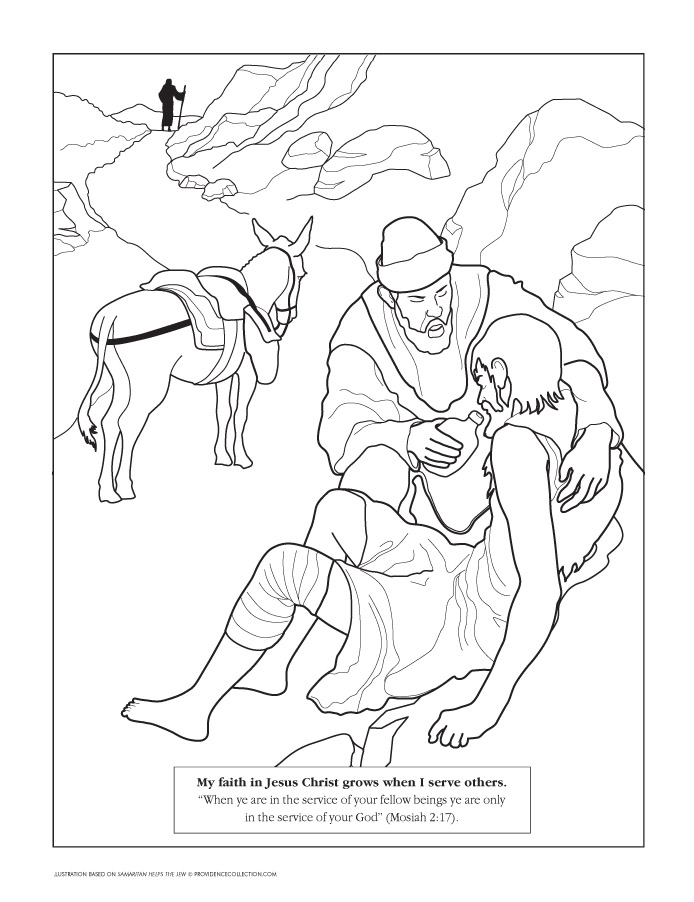 LDS Coloring Pages | 2019-2010