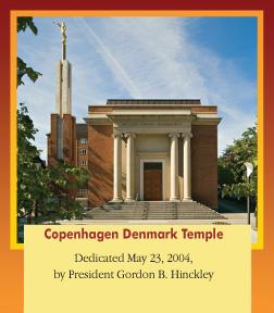 Copenhagen Denmark Temple