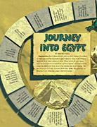Journey into Egypt game board