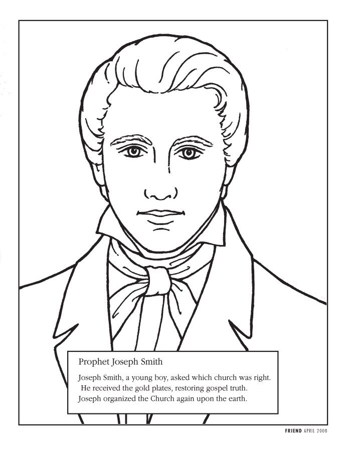 Lds Coloring Pages Gift Of The Holy Ghost