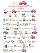 Grandpa's Red Pickup Truck