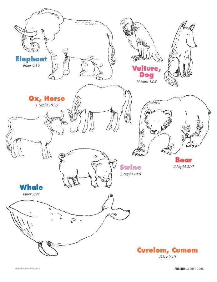 Book of Mormon Animals