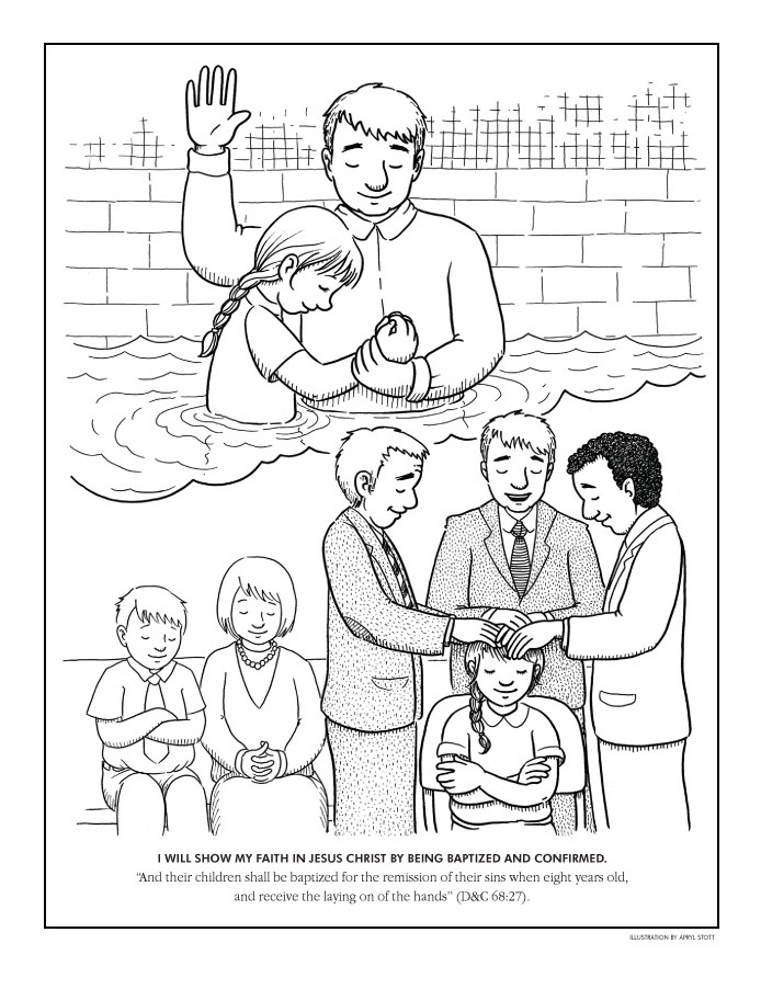 Ldsorg Coloring Pages