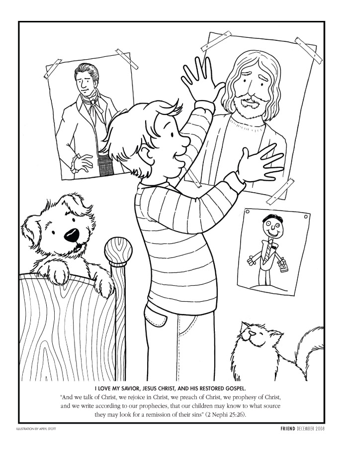 picture relating to Lds Printable Coloring Pages identify Coloring Webpages