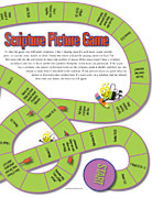 Scripture Pictures Game, right page