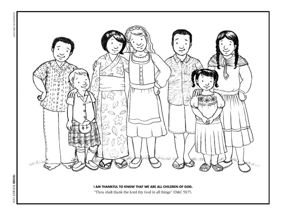 "Coloring Page,"" Friend, Nov. 2008, 41 - friend"