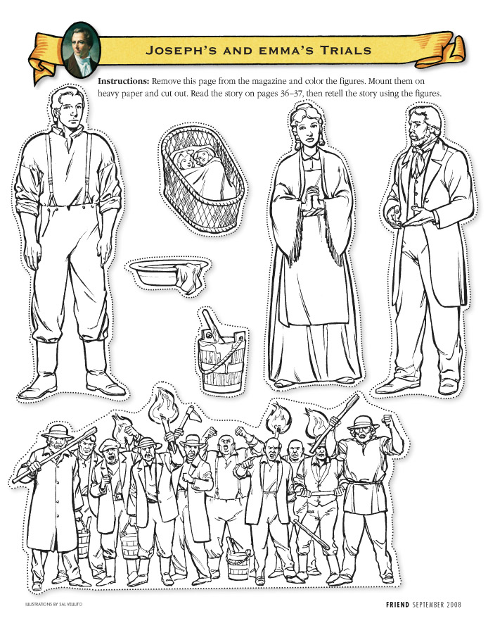 Lds Coloring Pages 2018 2009