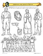 Joseph Smith Lives in Ohio cutout figures
