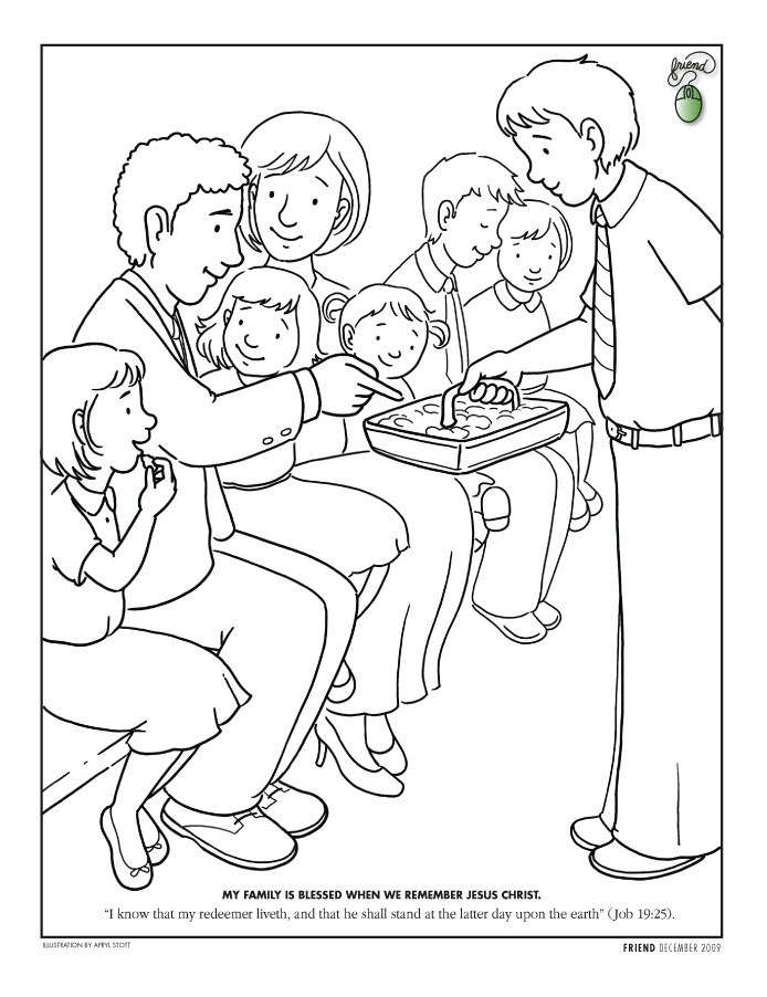 Influential image with regard to lds printable coloring pages
