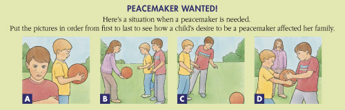 peacemaker activity