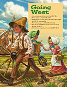 pioneer children going west