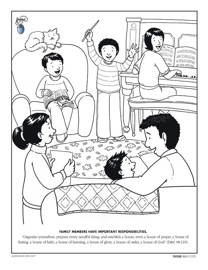LDS Coloring Pages | 2017-2009