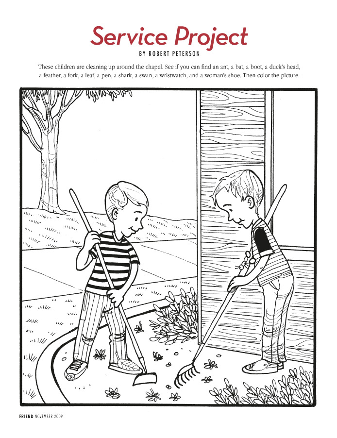LDS Coloring Pages | 2018-2009