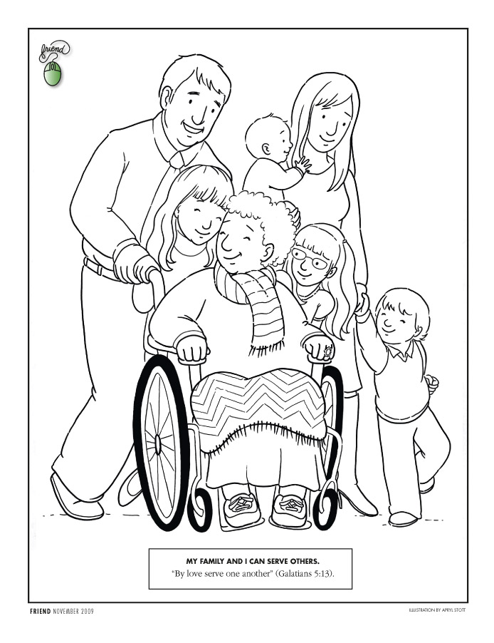 Coloring Pages 2009 2004 Friend Issues