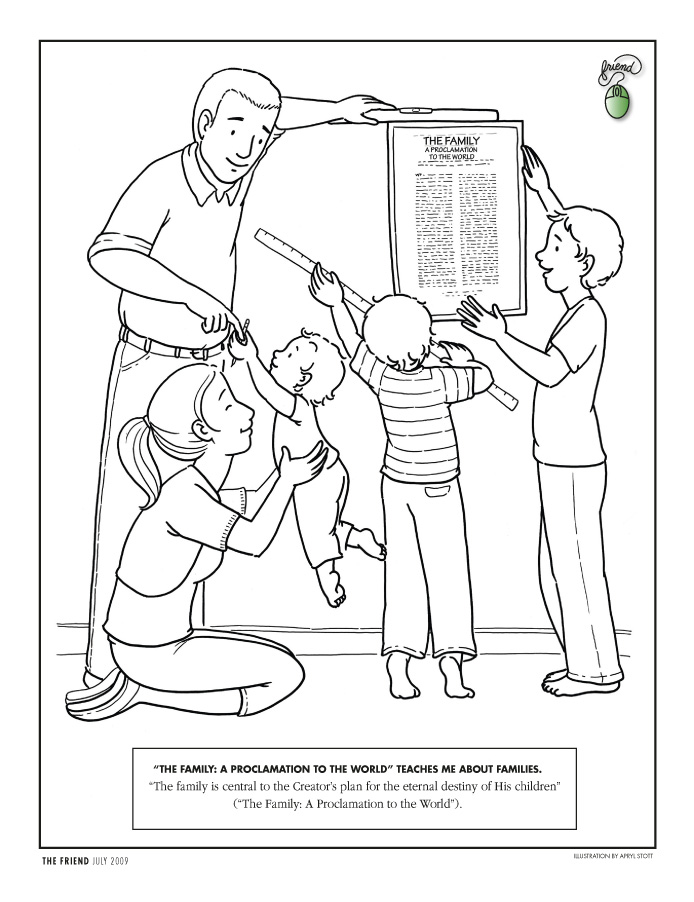 Lds Coloring Pages 2019 2010