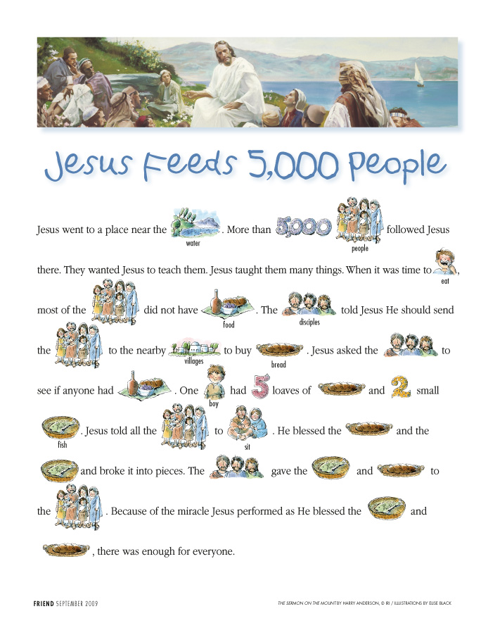 Jesus Feeds 5000 People