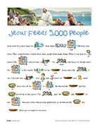 Jesus Feeds 5,000 People