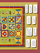 Primary quilt, bottom