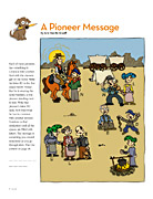 A Pioneer Message activity