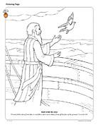 Noah Sends the Dove