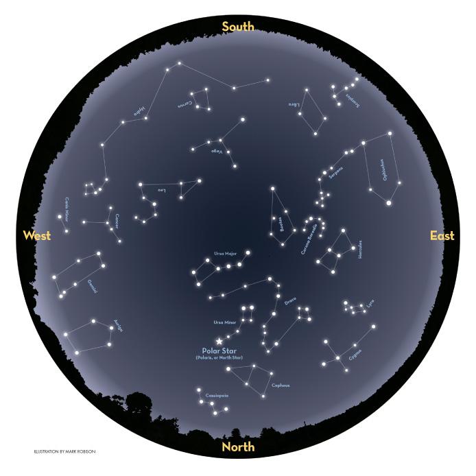 astronomy charts northern hemisphere - photo #21