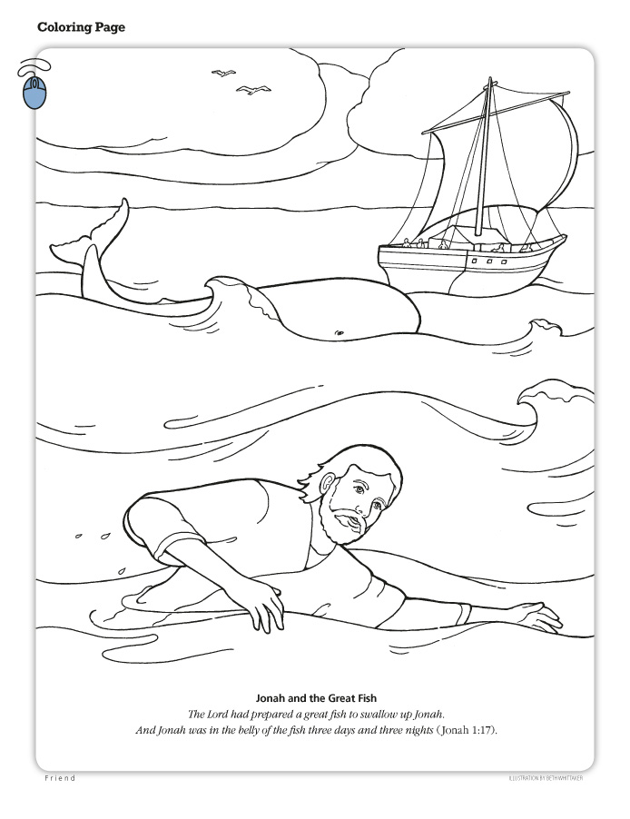 LDS Coloring Pages  20172009