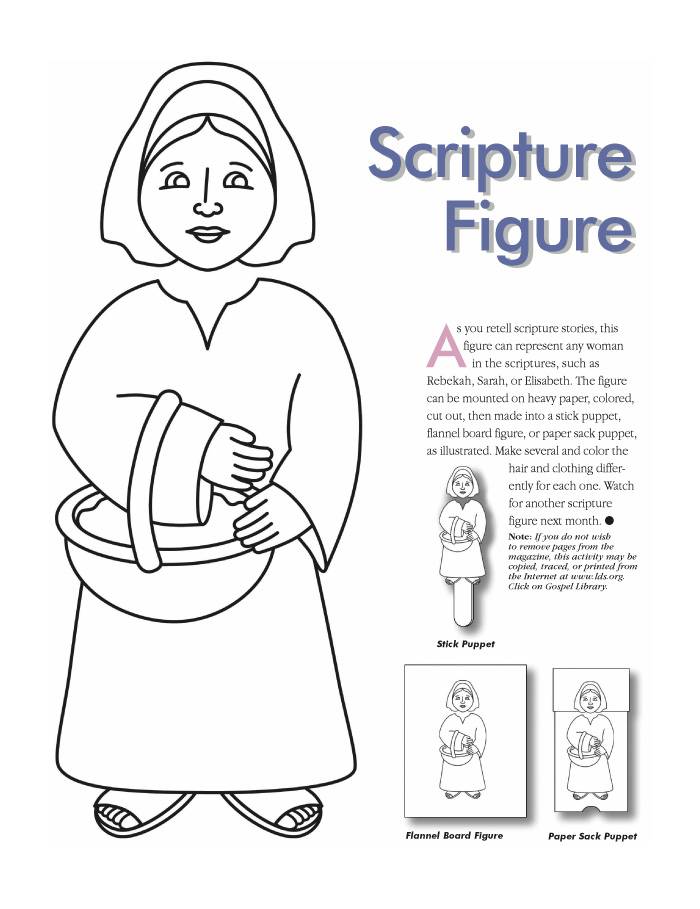 Bible Story Coloring Page For Jesus And The Woman At The Well ... | 909x700