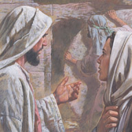 Jesus said to move the stone in front of Lazarus' tomb